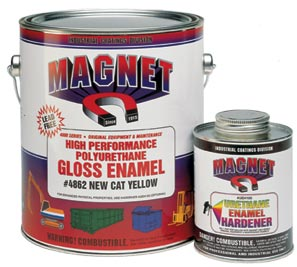 Magnet 4800 Series Are High Solids Premium Quality Urethane Alkyd Enamels With Hiding Good Leveling And Excellent Gloss Color Retention