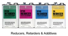 Reducers, Retarders & Additives